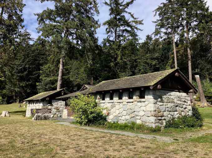 CCC Interpretive Center Museum at Deception Pass State Park, Washington