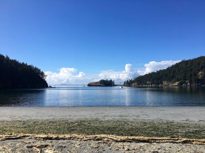 Bowman Bay in Deception Pass State Park, Washington