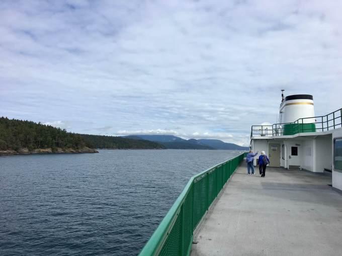 Ferry to San Juan Islands, Washington