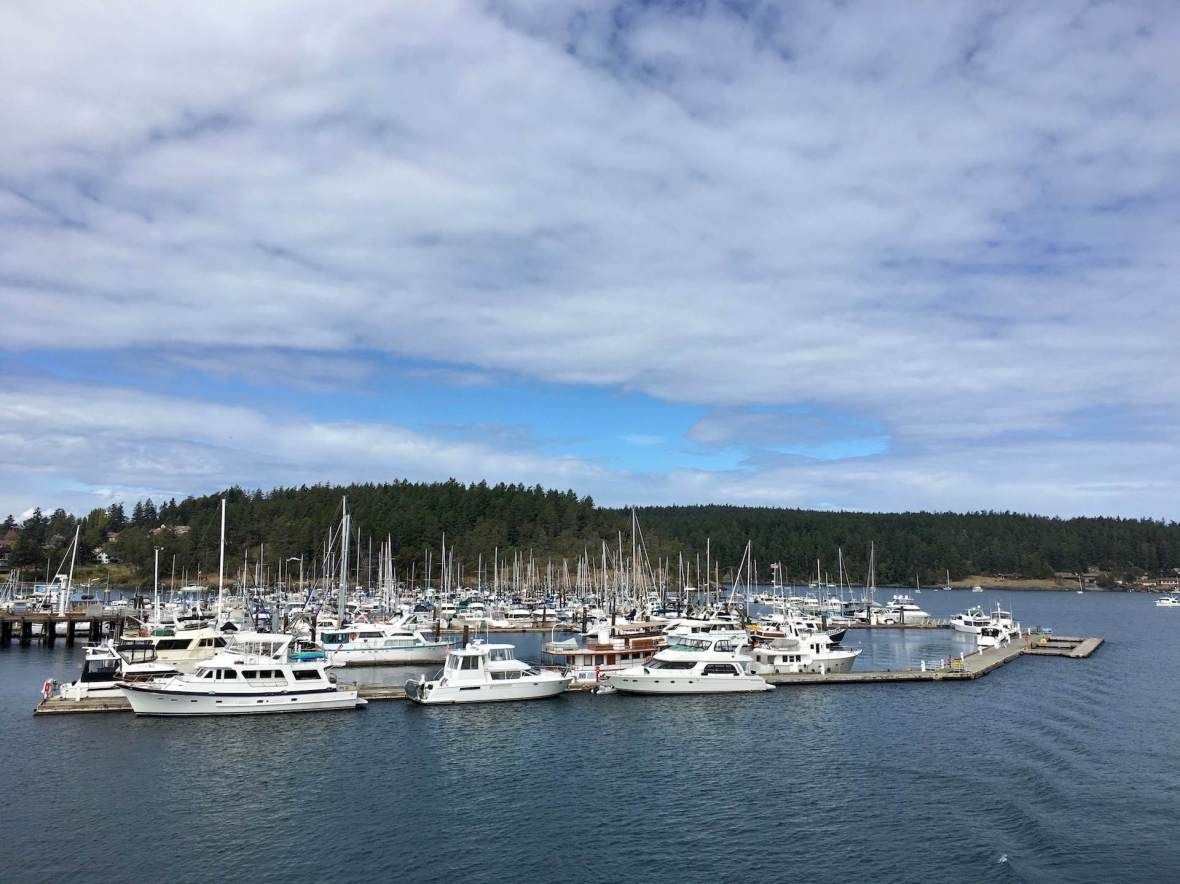 Boats in Friday Harbor, Washington