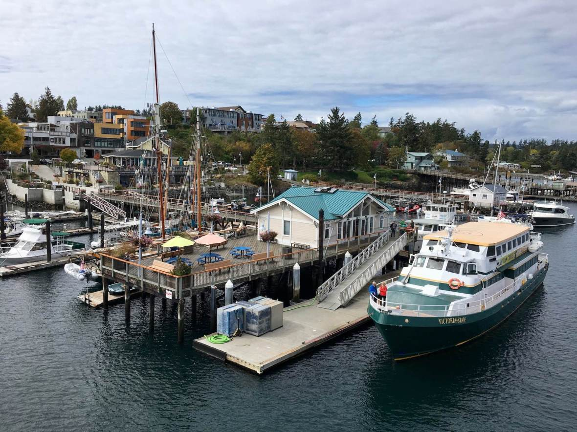 Boats in Friday Harbor