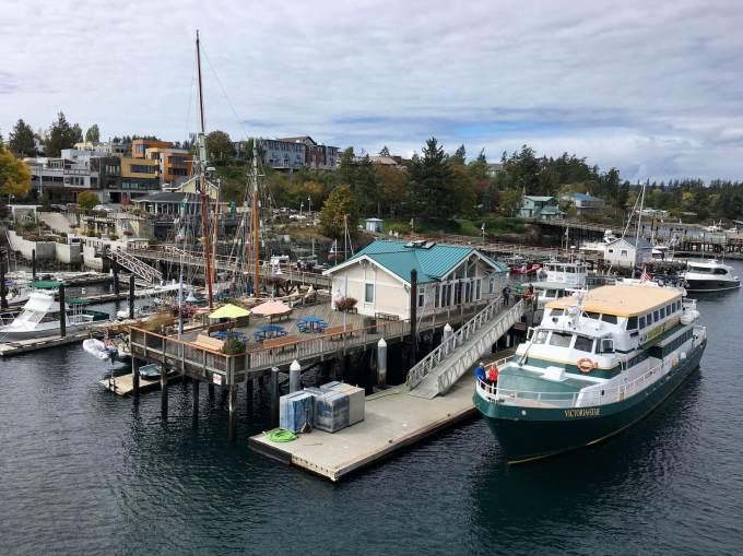 Boats in Friday Harbor