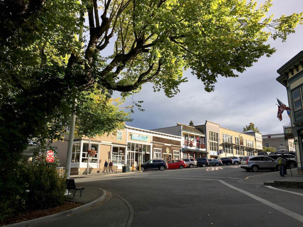 Friday Harbor business district