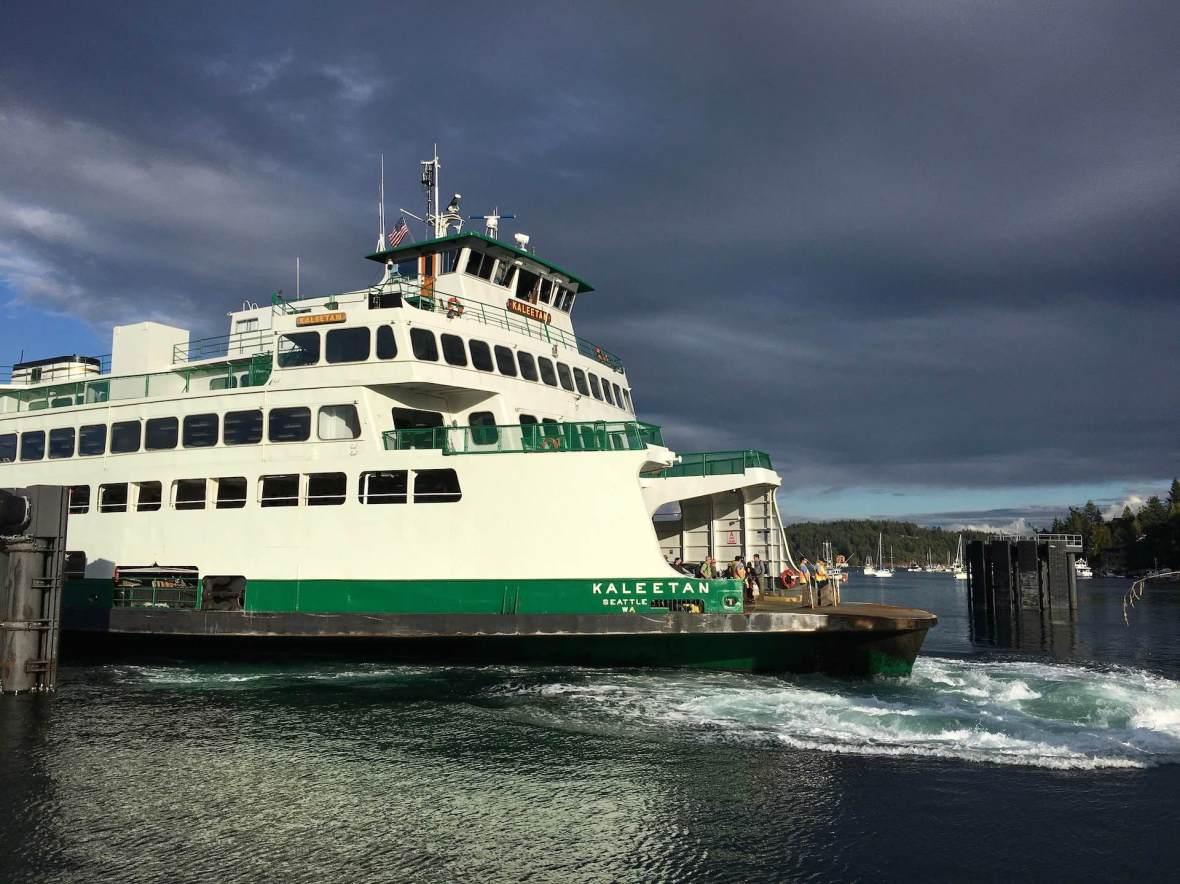 San Juan Islands Kaleetan Ferry Anacortes to Friday Harbor