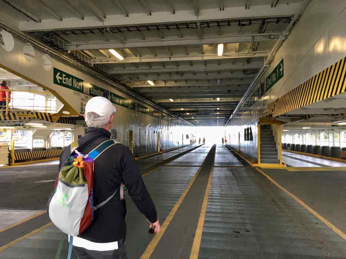 Car deck, Kaleetan ferry