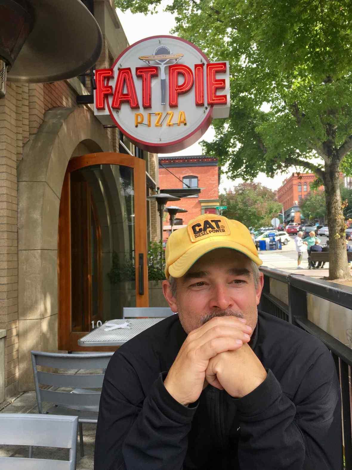 Fat Pie Pizza in Fairhaven, Bellingham, Washington