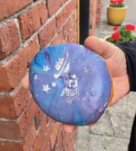 Out of this world Rocket Doughnuts in Fairhaven Bellingham Washington