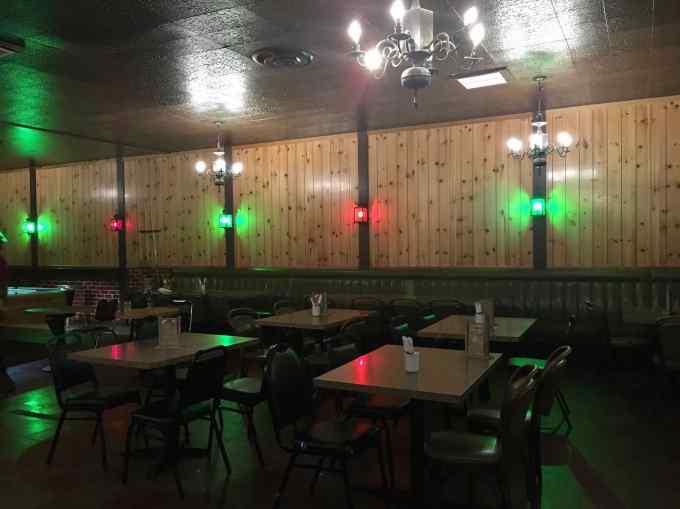The Ranch Room bar lounge at Horseshoe Cafe, Bellingham, Washington