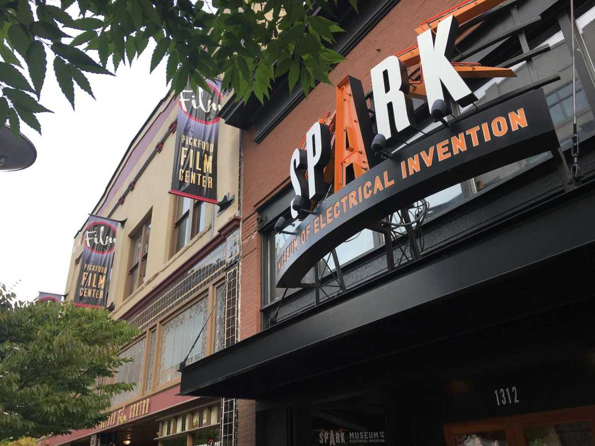 Spark Museum of Electrical Invention in Downtown Bellingham Washington