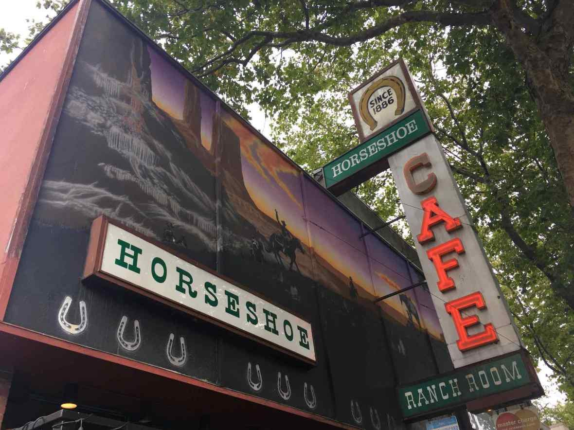 Horseshoe Cafe and Ranch Room in downtown Bellingham, Washington