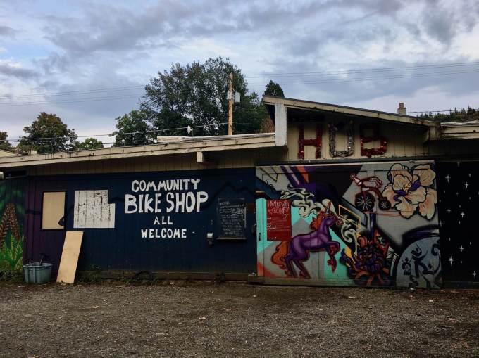 The Hub Community Bike Shop, Bellingham, Washington