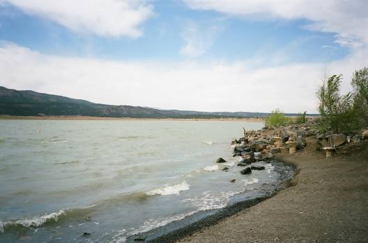 Storrie Lake State Park in Las Vegas, New Mexico 35mm film photograph shot on Kodak Portra 400 with Nikon L35AF