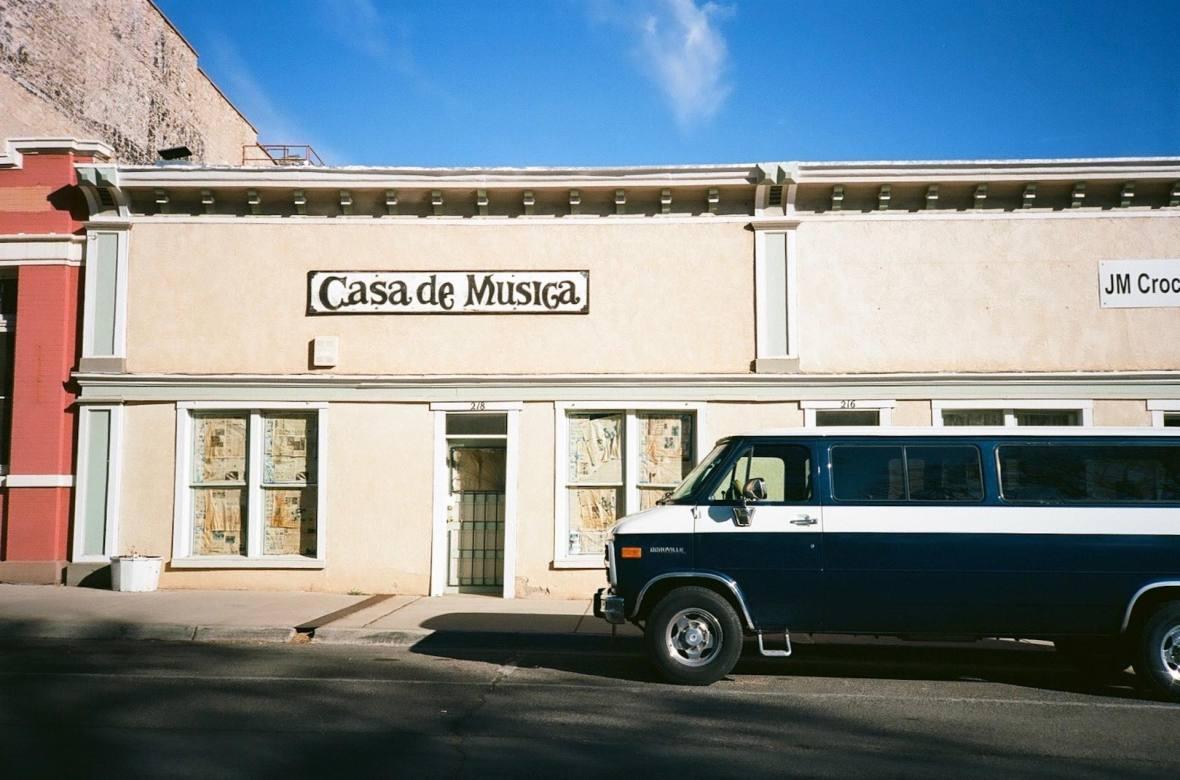 On the plaza in Las Vegas, New Mexico 35mm Film Photography Nikon L35AF Kodak Ektar 100