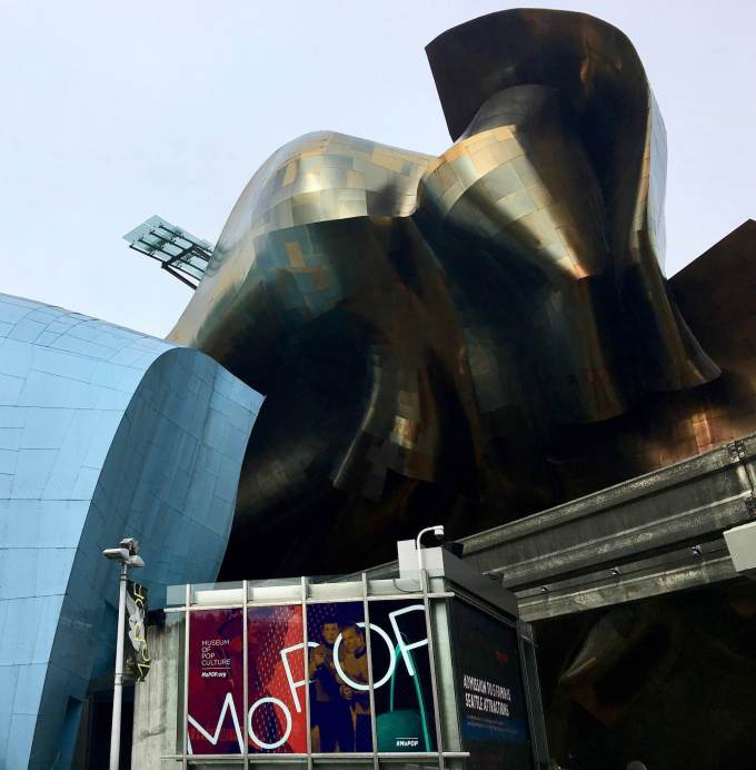 Frank Guerry designed Museum of Pop Culture MOPOP in Seattle Washington