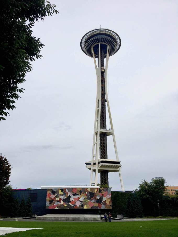 Space Needle Park in Seattle