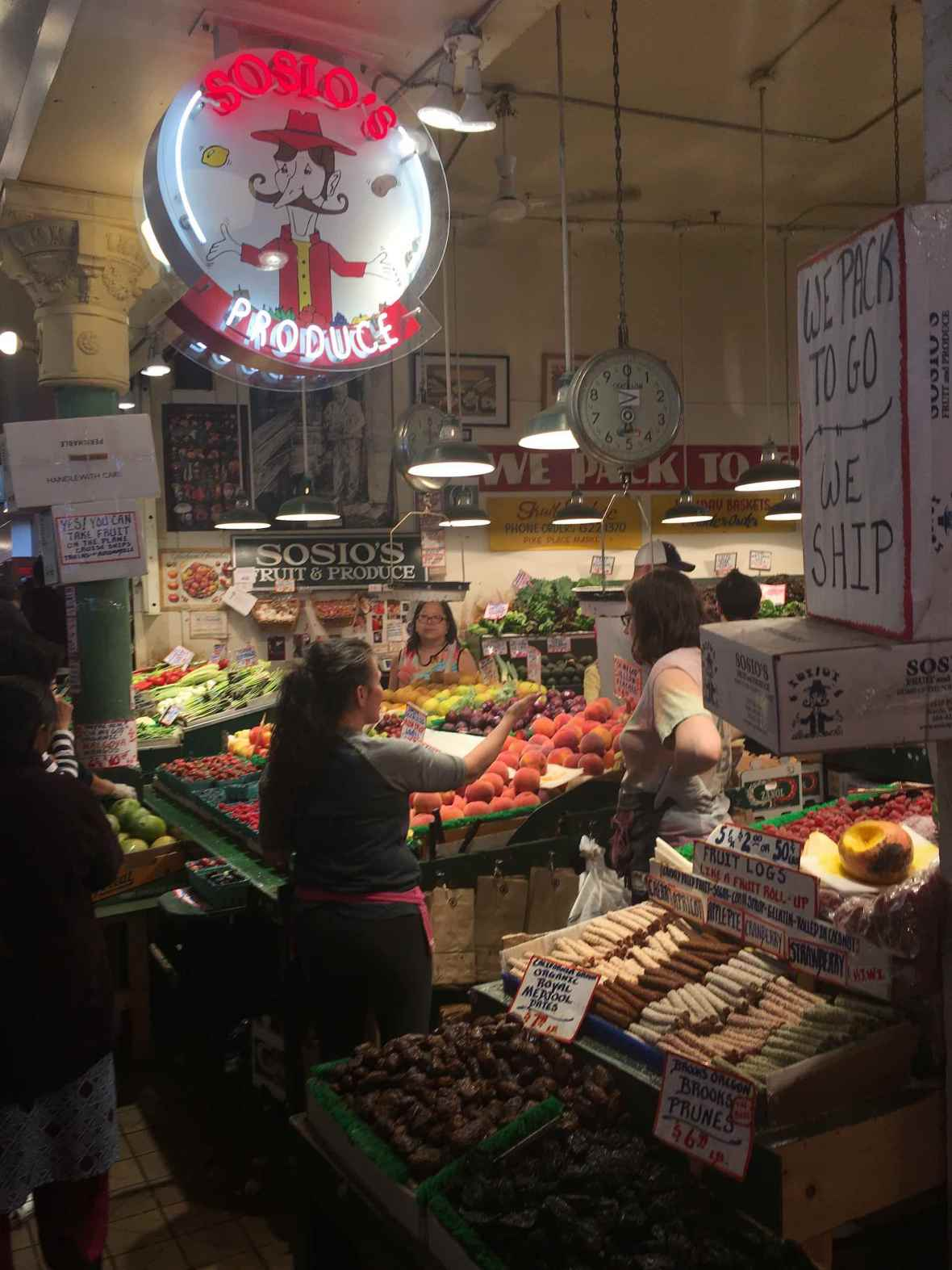 Inside Seattle's Pike Place Market