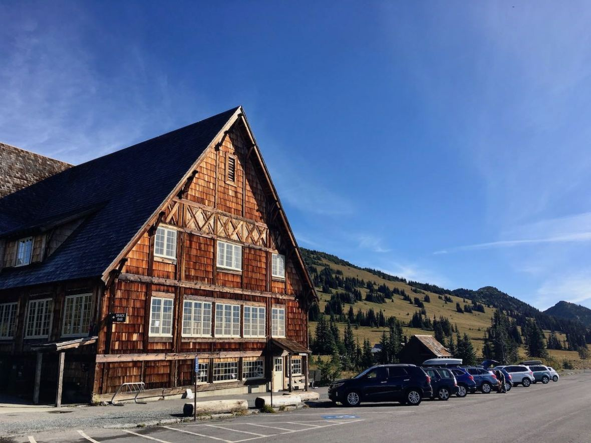 Day Lodge in Sunrise area of Mount Rainier National Park
