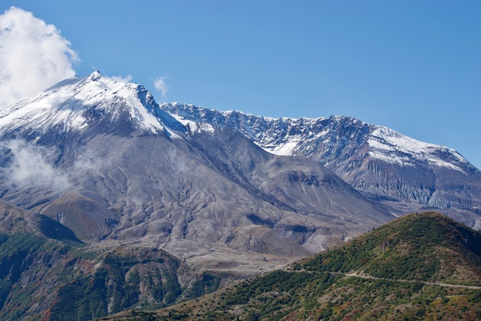 Mount St. Helens Crater