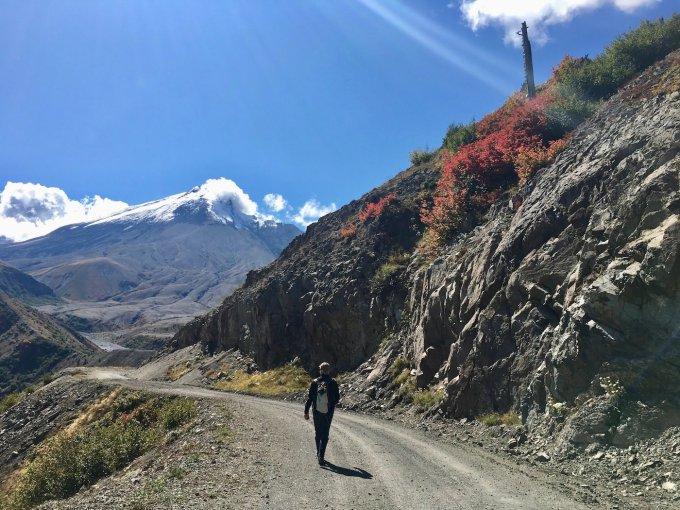 Hiking Trail #207 aka Windy Trail aka Truman Trail toward Mount St. Helens