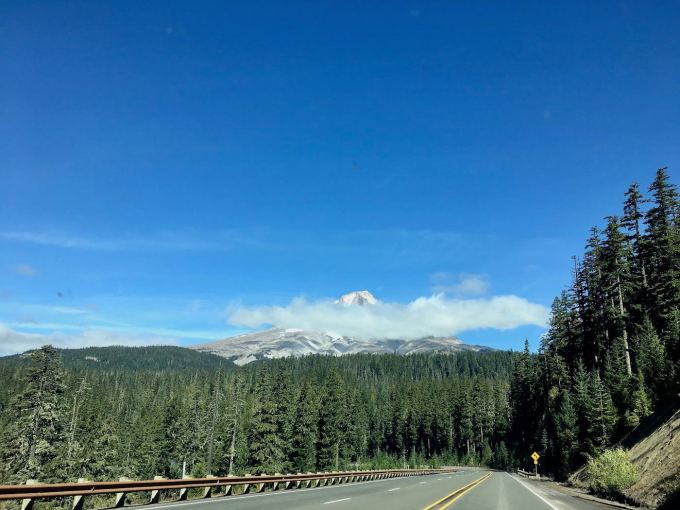 Mt. Adams view from OR-35 in Oregon