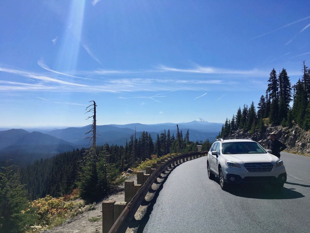 View from Mt. Hood Scenic Byway