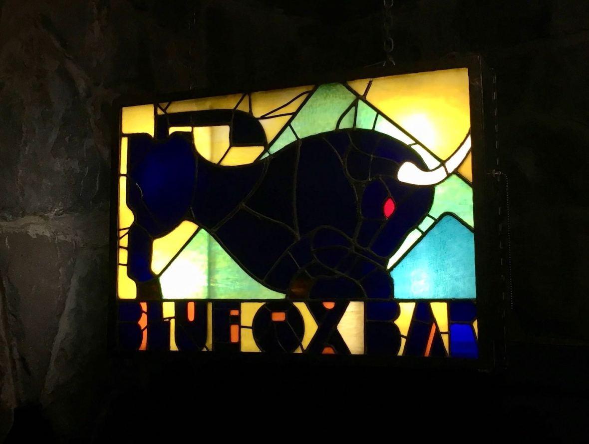 Blue Ox Bar in Timberline Lodge in Mt. Hood, Oregon