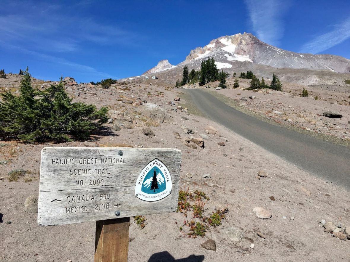 Pacific Crest Trail on Mt. Hood, Oregon