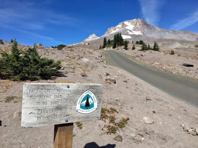Pacific Crest Trail on Mt. Hood, Oregon
