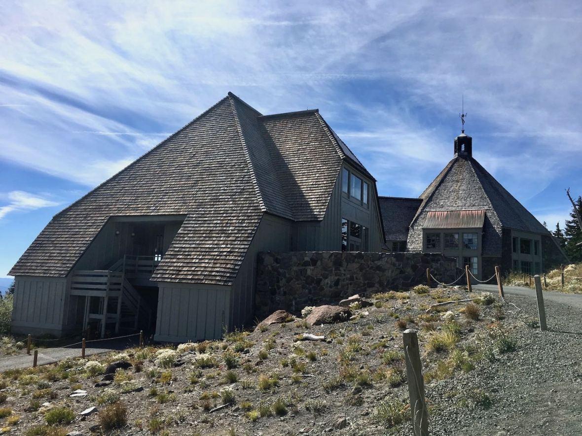 Timberline Lodge on Mt. Hood, Oregon