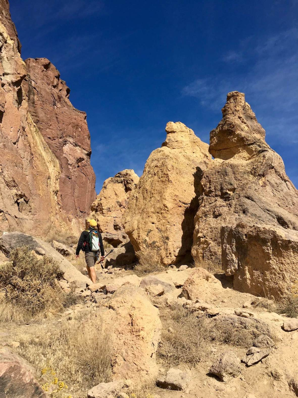 Along the Misery Ridge Trail in Smith Rock State Park, Oregon