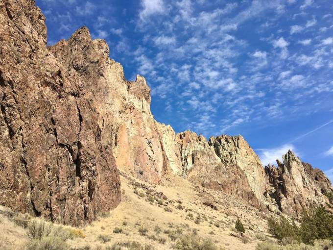 Smith Rock State Park formations