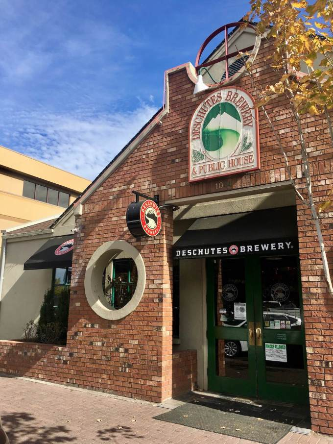 Deschutes Brewery and Public House in downtown Bend, Oregon