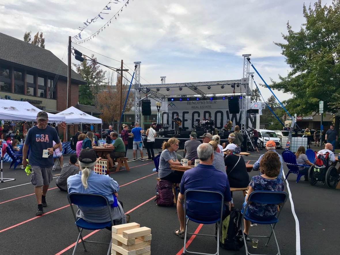 Live music at Bend Oregon Oktoberfest