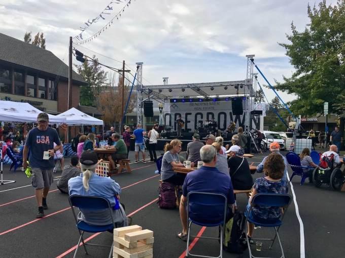 Live music at Bend Oregon Oktoberfest