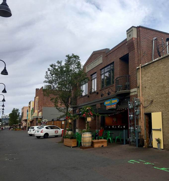 Worthy Brewing Taps and Tacos in downtown Bend, Oregon