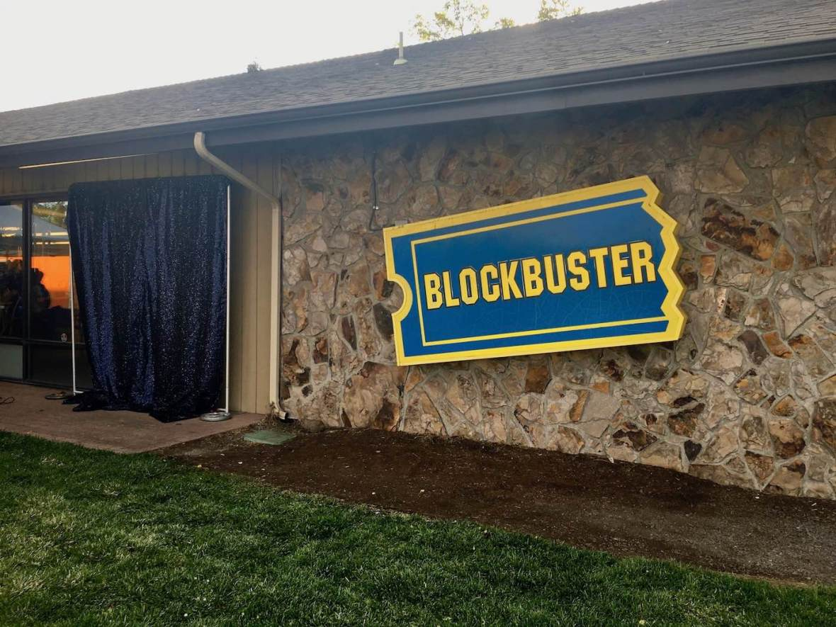 The last Blockbuster Video store in the world in Bend, Oregon