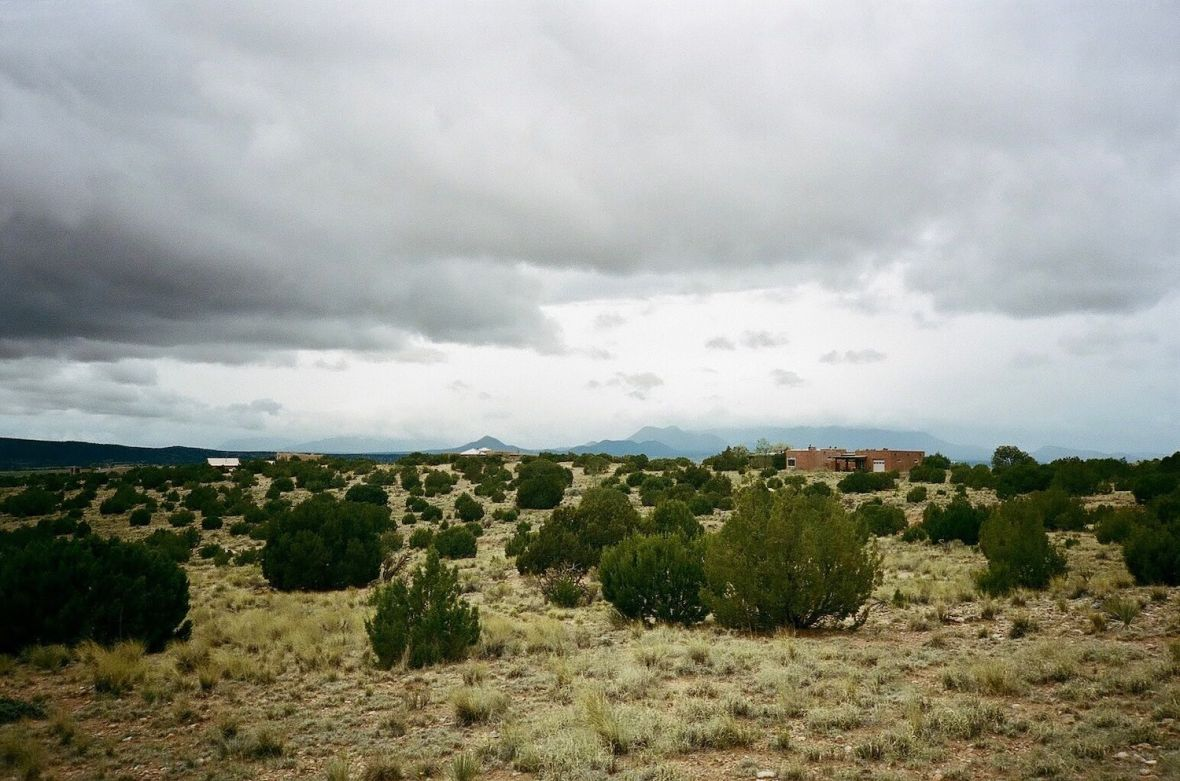 35mm film photograph - Hiking through the Galisteo Basin, New Mexico