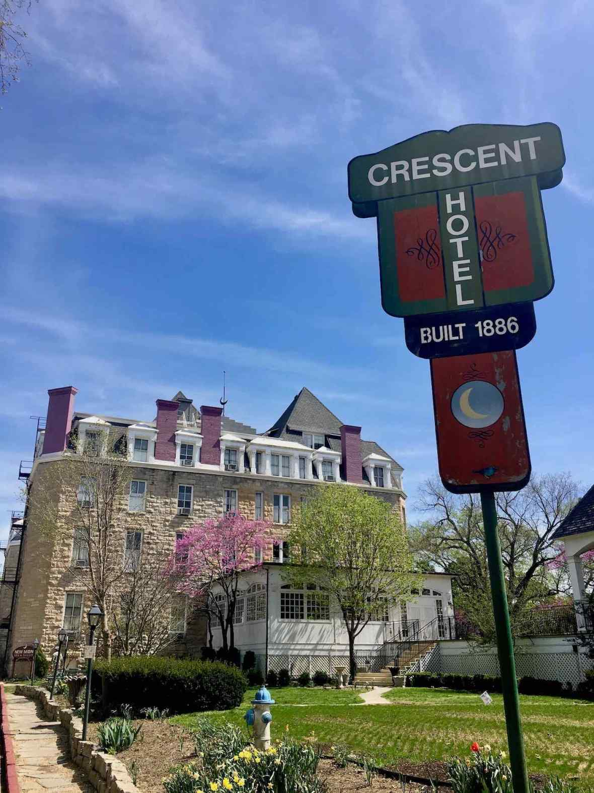 Historic Crescent Hotel and Spa in Eureka Springs, Arkansas