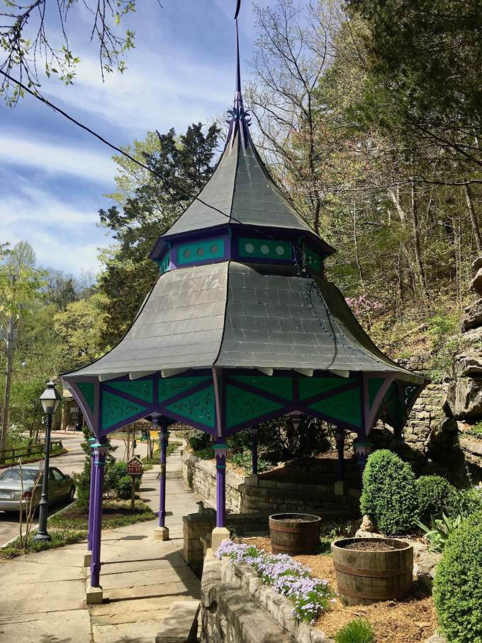 Victorian gazebo in Eureka Springs, Arkansas
