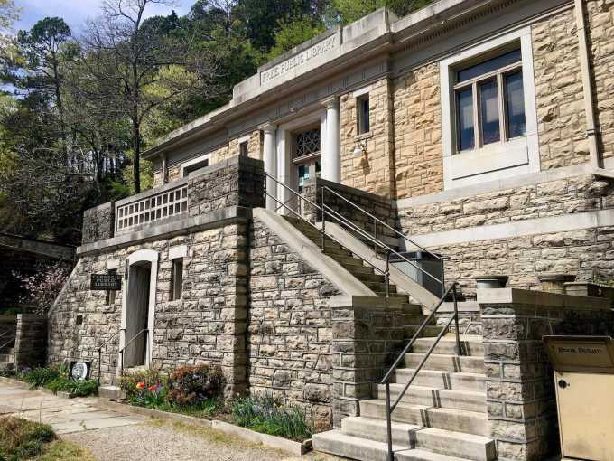 Carnegie Library in Eureka Springs, Arkansas