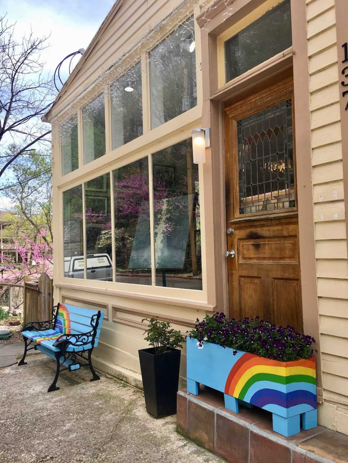 Art gallery in LGBTQ friendly Eureka Springs, Arkansas
