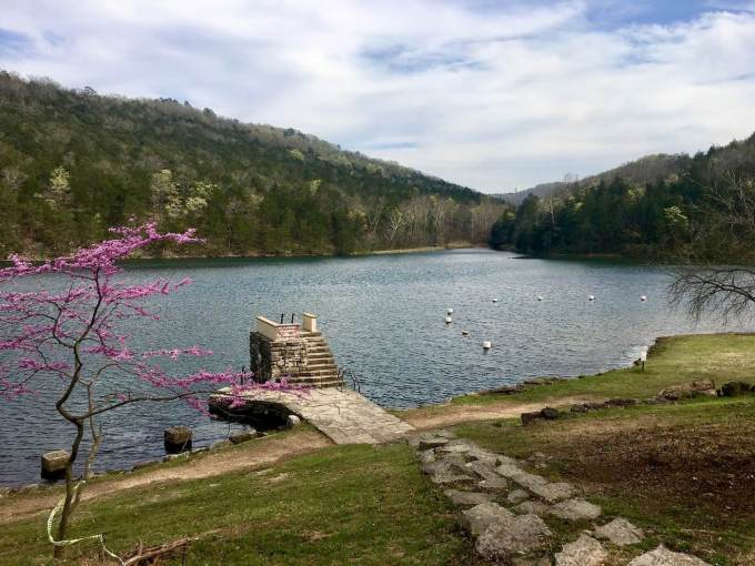 Lake Leatherwood Park in Eureka Springs, Arkansas