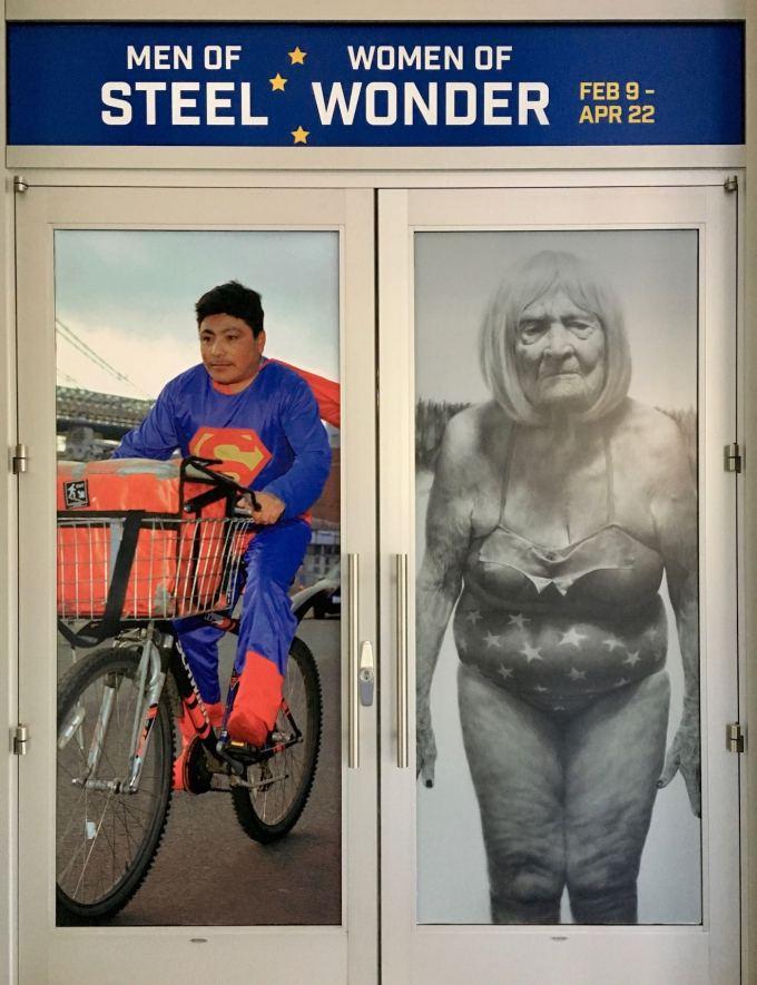 Men of Steel Women of Wonder Exhibit at Crystal Bridges Museum of American Art