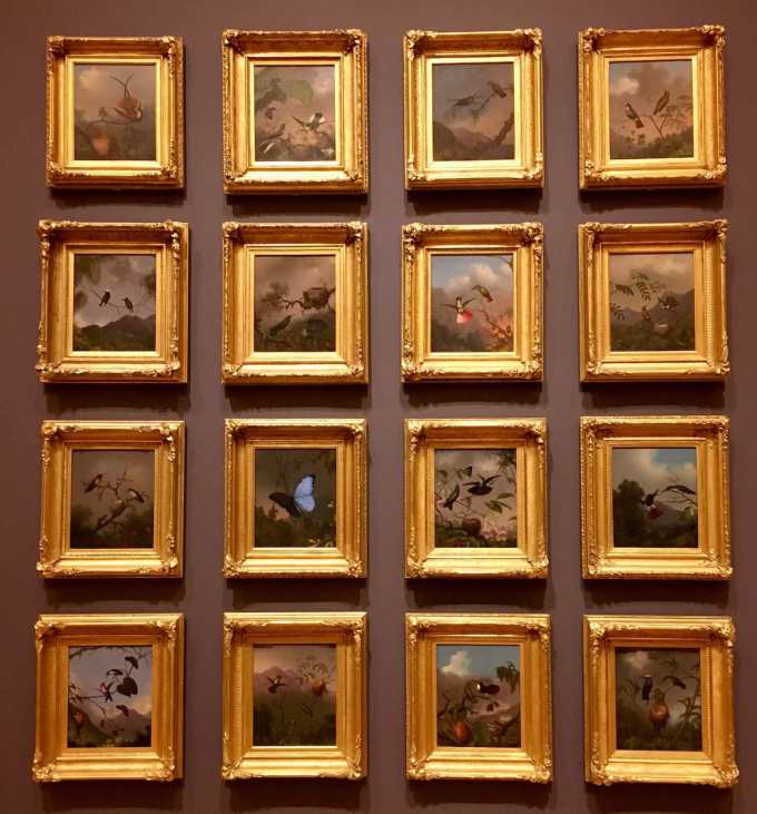 Collection of Martin Johnson Meade paintings at Crystal Bridges Museum of American Art