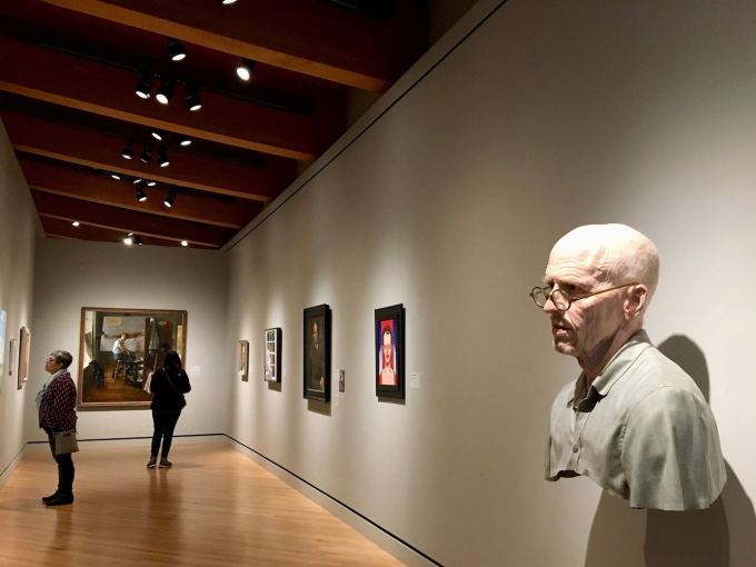 Old Self: Portrait of the Artist as He Will (Not) Be #2 by Evan Penny at Crystal Bridges Museum of American Art