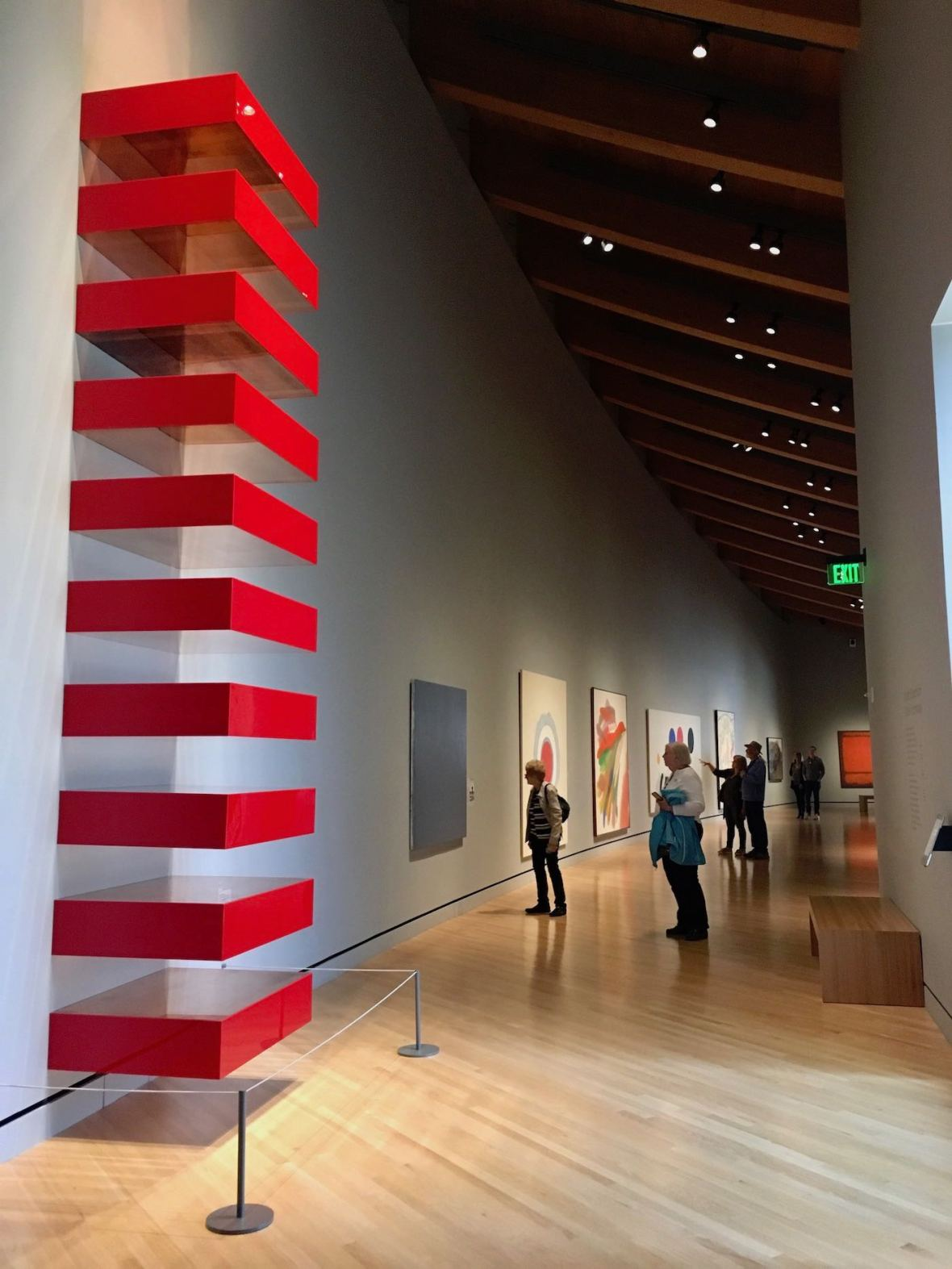 Mid Century works at Crystal Bridges Museum of American Art