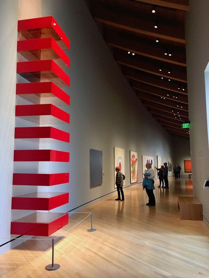 Mid Century works at Crystal Bridges Museum of American Art