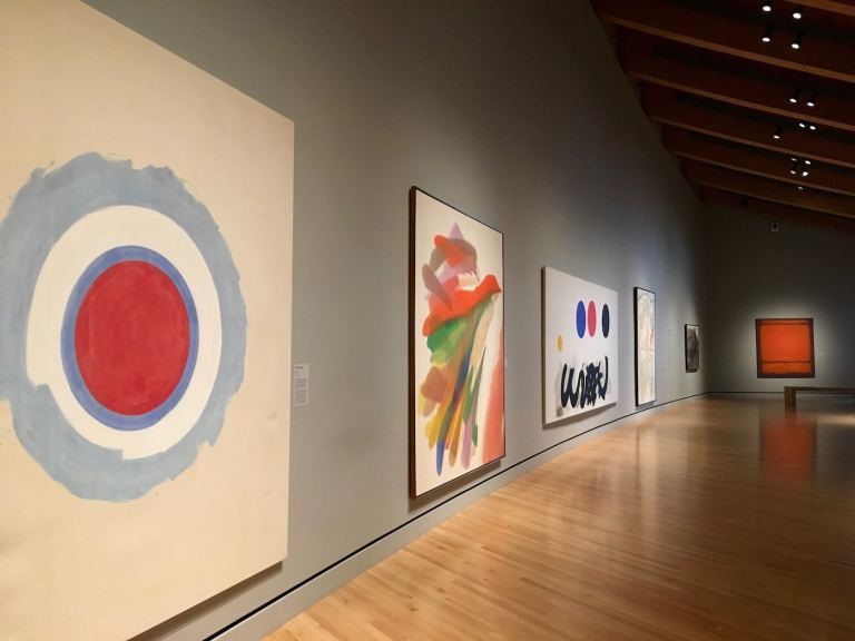 Mid Century Paintings at Crystal Bridges Museum of American Art