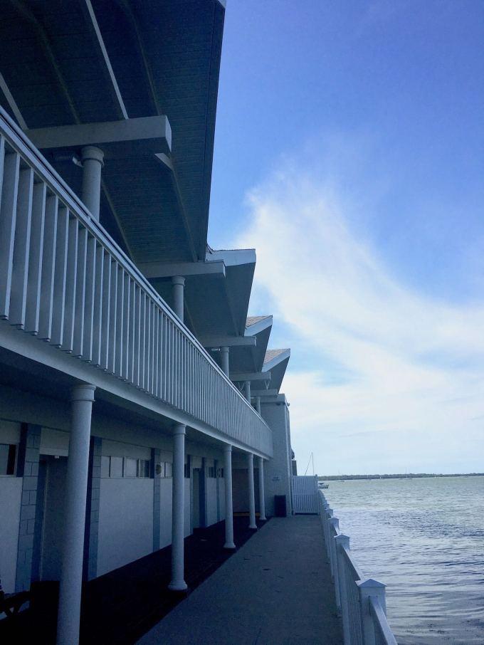 Mid Century Best Western Plus Yacht Harbor Inn waterfront hotel in Dunedin Florida