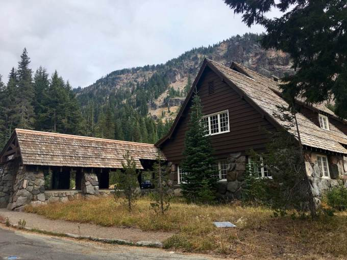 NPS Rustic architecture at Crater Lake National Park, Oregon